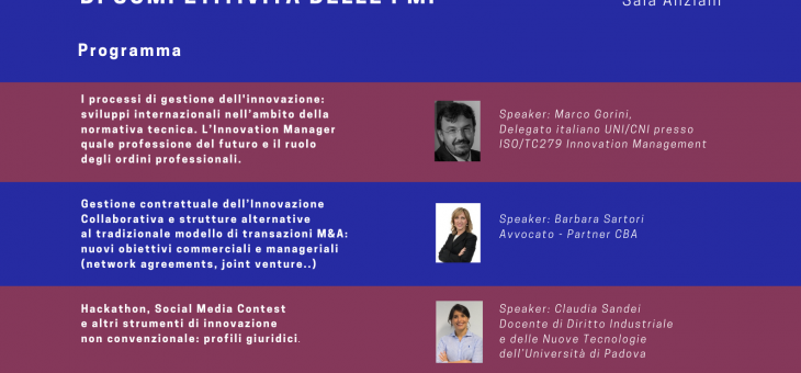 8 MAY 2019 – OPEN INNOVATION
