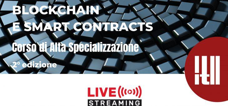 Blockchain e Smart Contracts – Corso di Alta Specializzazione (2° edizione – Live Webinar)